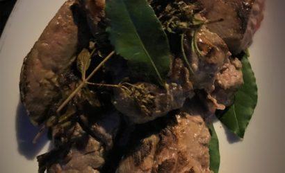 Cuisson à la plancha pour des filets de sanglier