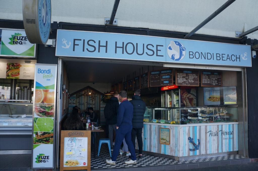 Fish house à Bondi beach pour déguster des fish and chips
