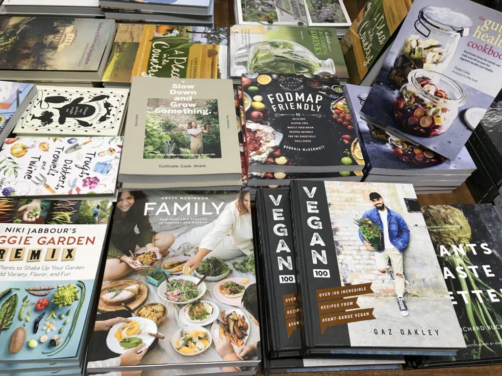 Sélection de livre de cuisine végétarien