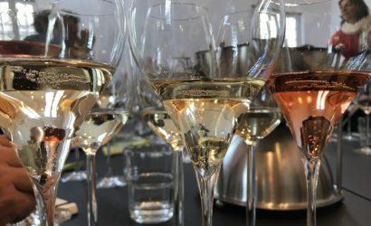 Dégustation techniques des champagnes Devaux