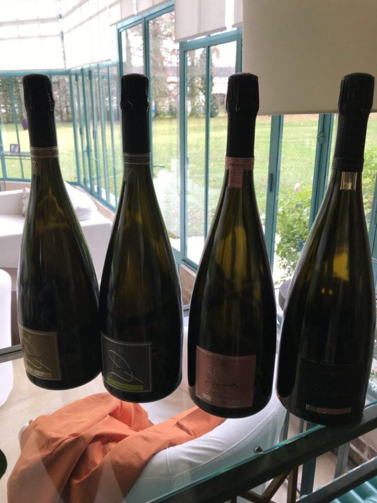 Magnum dégustés Champagnes Devaux