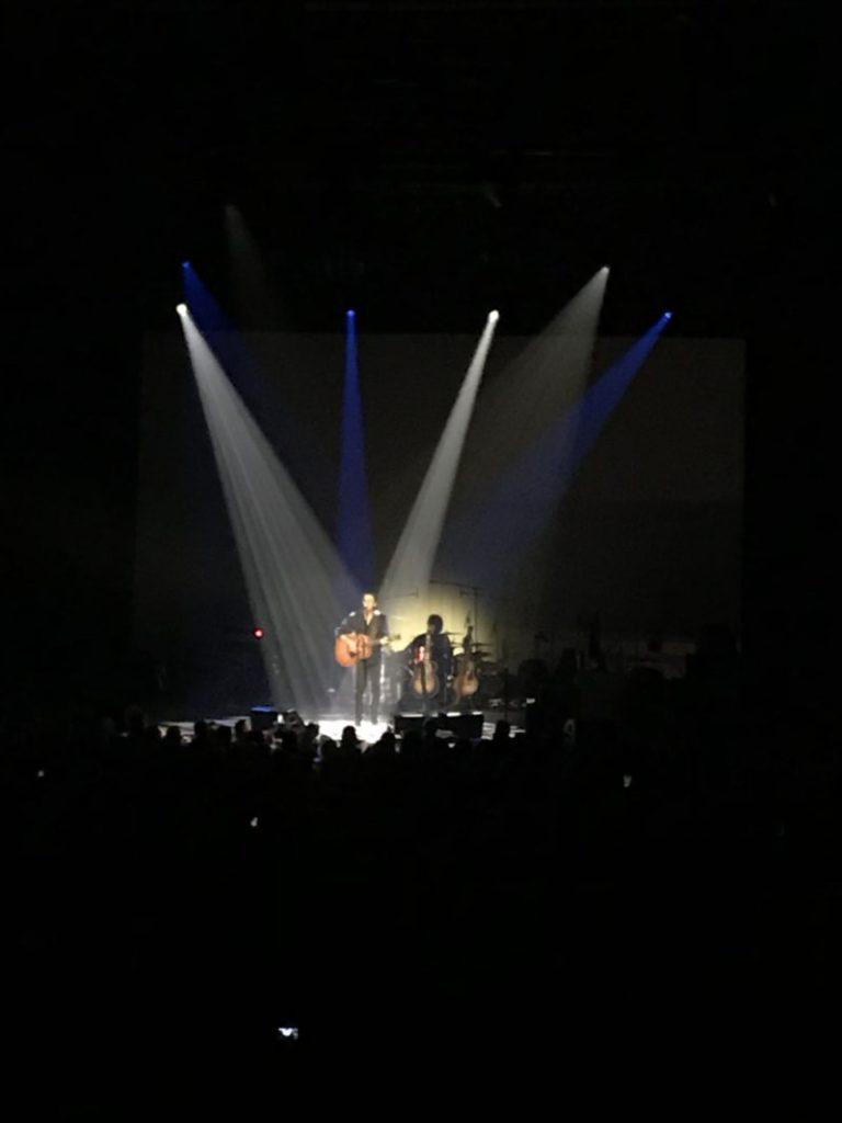 concert de Cabrel à Troyes aux nuits de Champagne