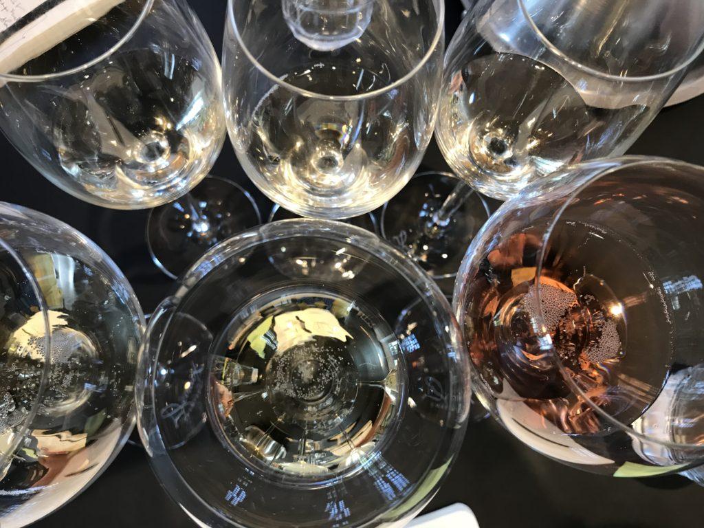 verres de dégustation des champagnes