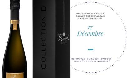 Lot du calendrier de l'avent hygge Cuvée D champagne Devaux