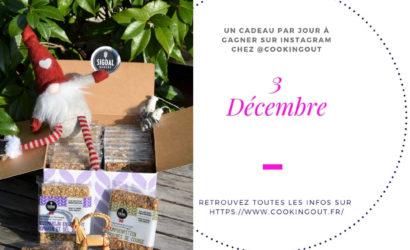 Lot du 3 décembre du claendrier de l'Avent les crackers Sigdal