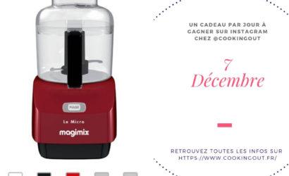 Robot le Micro Magimix Rouge