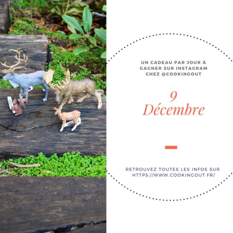 9 decembre 4 Animaux Papo à gagner dans le calendrier de l'avant hygge