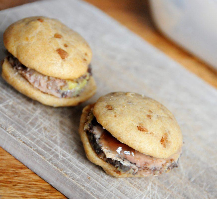 Recette de whoopie au foie gras