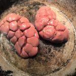 cuisson des rognons de veau entiers