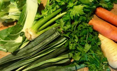 légumes pour bouillon