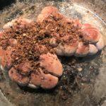 rognons de veau cuisson à la chapelure d'ail