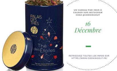 thé des étoile pour la seizième case du calendrier de l'avent