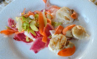 coquilles St jacques cuites façon teryaki