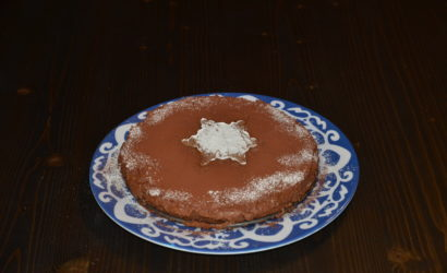 recette de gâteau à base de mousse au chocolat cuite et crue