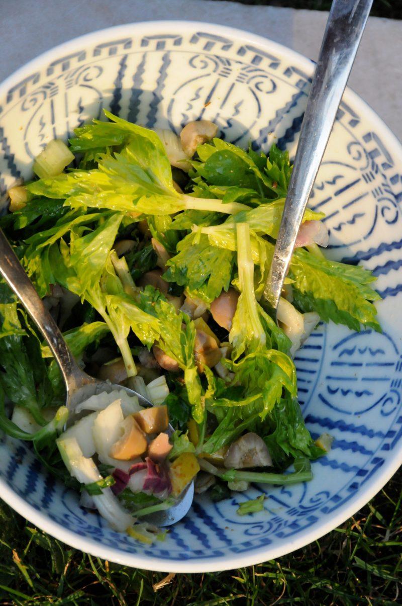 salade de céleri branche et citron confit