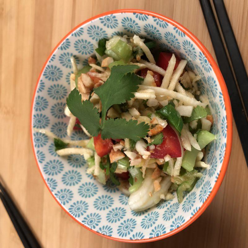 salade thai servie