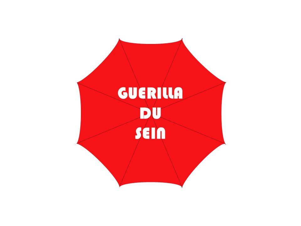 Logo podcast guerilla du sein