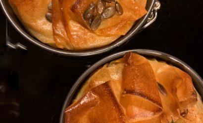 Tourte quinoa & buternut et graines