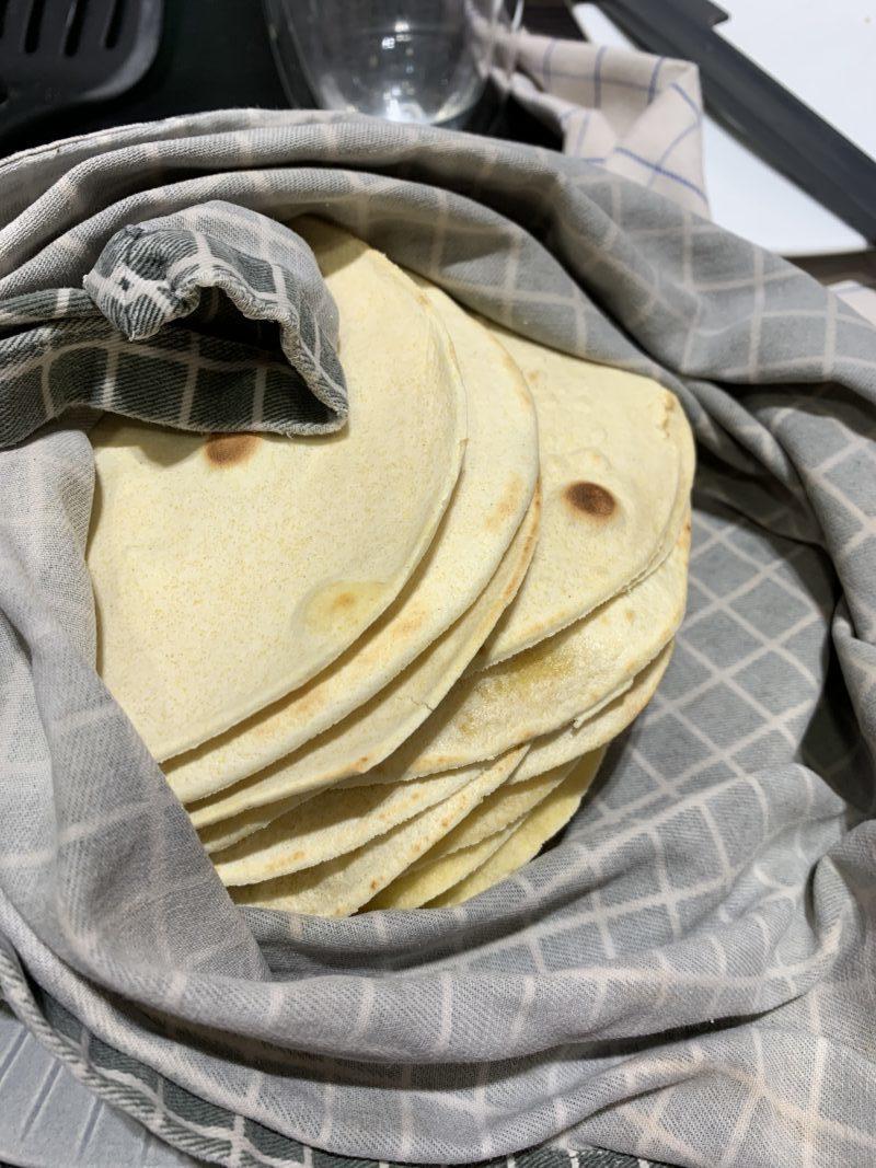 tortillas mexicaines faites maison