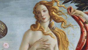 extrait de la naissance de Venus illustration pour l'épisode Coupe militaire exigée