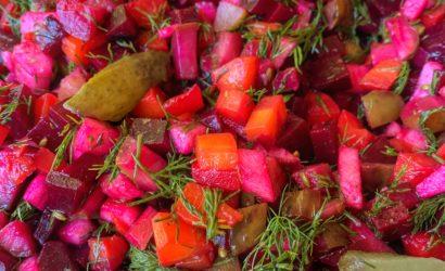 salade d'inspiration russe d'Irène