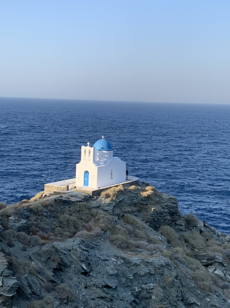 image des Cyclades le Kastro à Sifnos