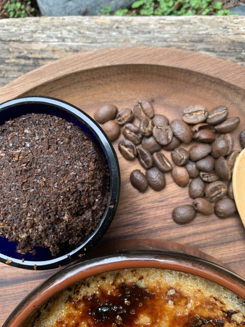 café et marc pour crème brûlée
