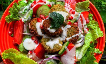 falafels selon la recette d'Ottolenghi et sauce Tahini