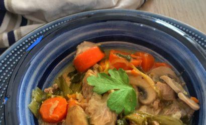 recette de blanquette de veau avec du riz
