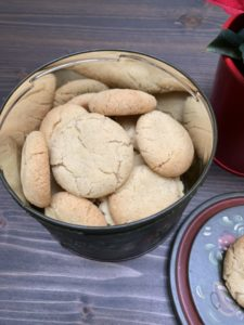 """boites de biscuits suédois fait maison ils sont appelés des """"rêves"""""""