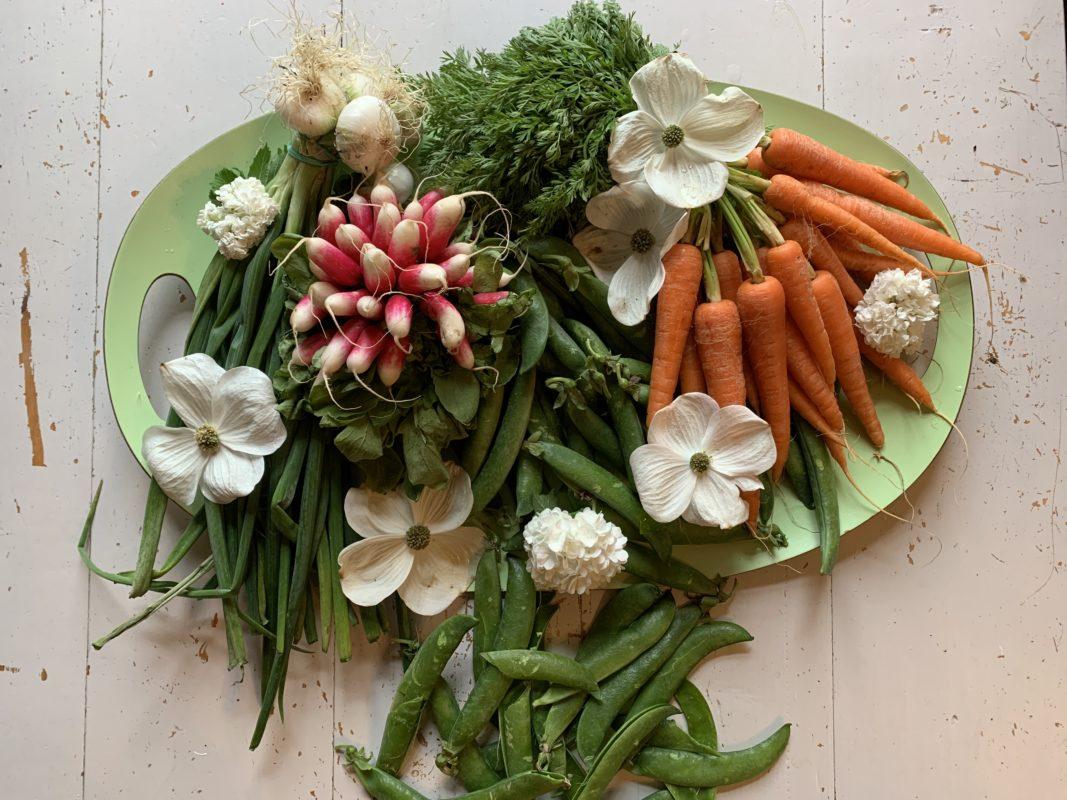 légumes et fanes