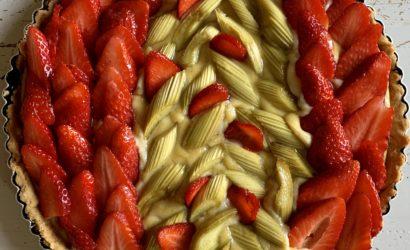 tarte fraises rhubabe