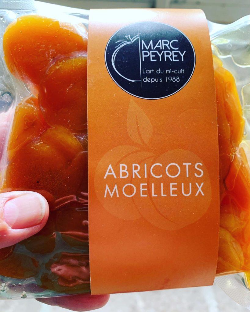 Abricot secs moelleux de chez Marc Peyret