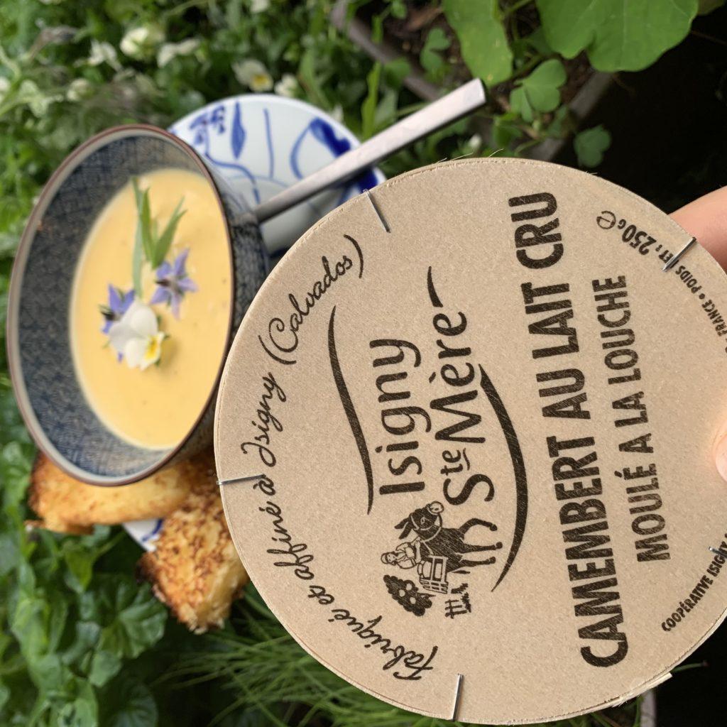 camembert normand pour une soupe originale