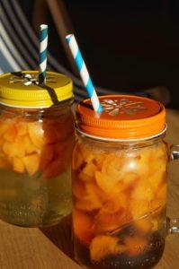 suze du verger aux abricots cocktail