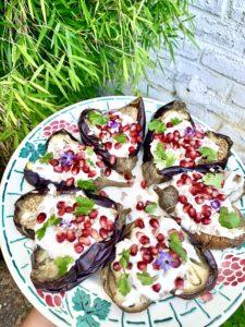 plat d'aubergines fondantes façon Ottolenghi
