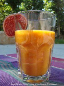 smoothie aux 2 figues boisson healthy