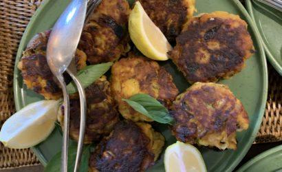 fish cakes patates douces pour finir les restes