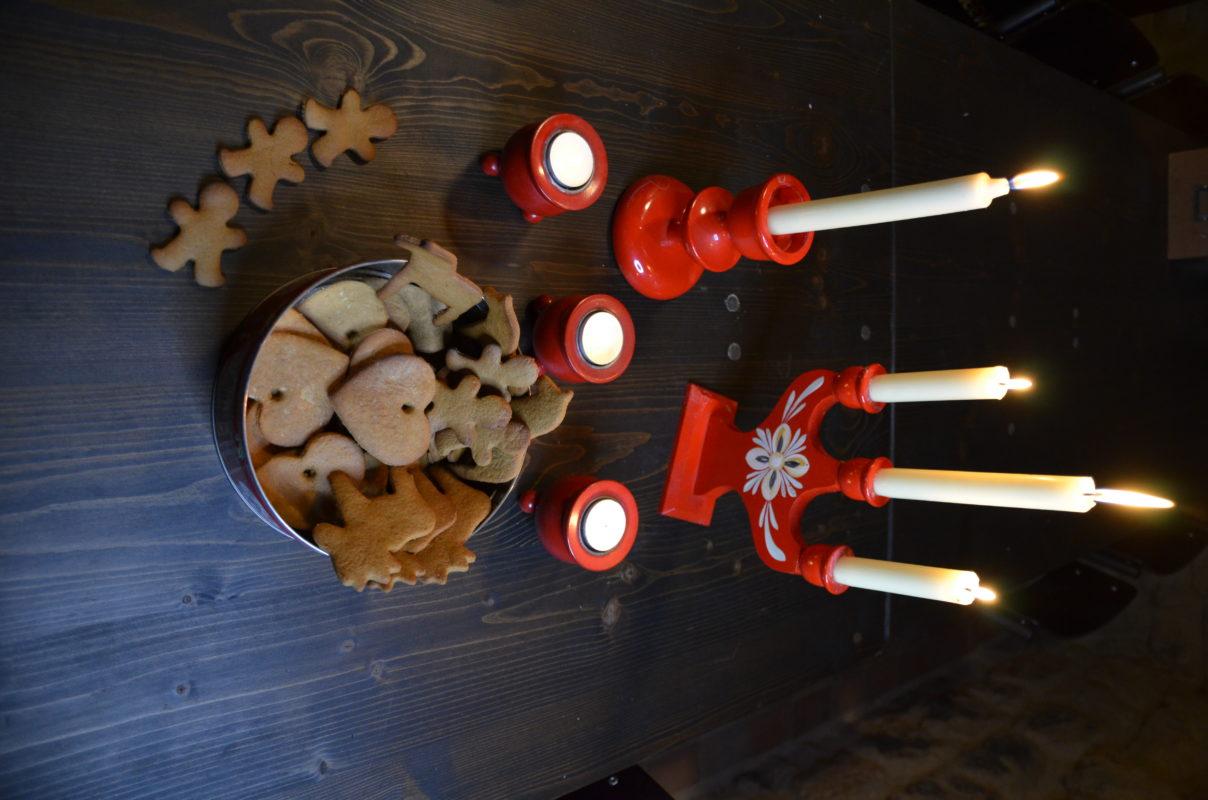 boite de biscuits suédois les pepperkakor