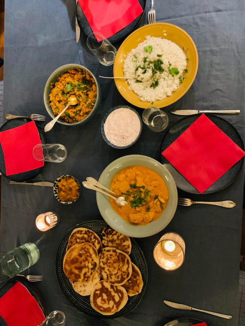 cuisine indienne d'Eugénie