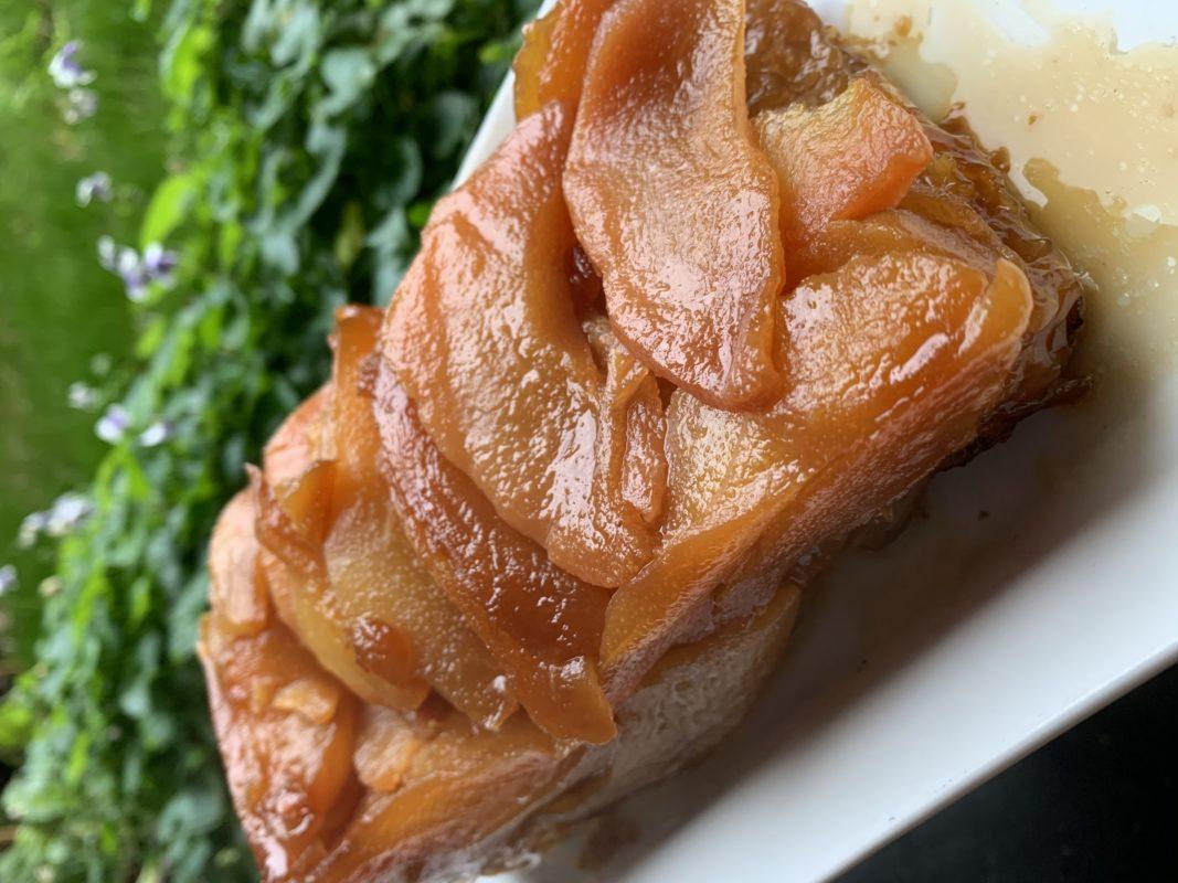 tarte tatin aux poires avec pâte filo
