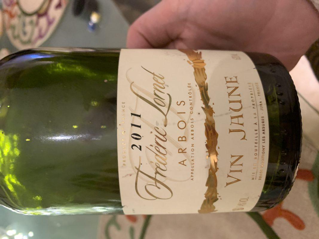 vin jaune d'Arbois Frédéric Lornet